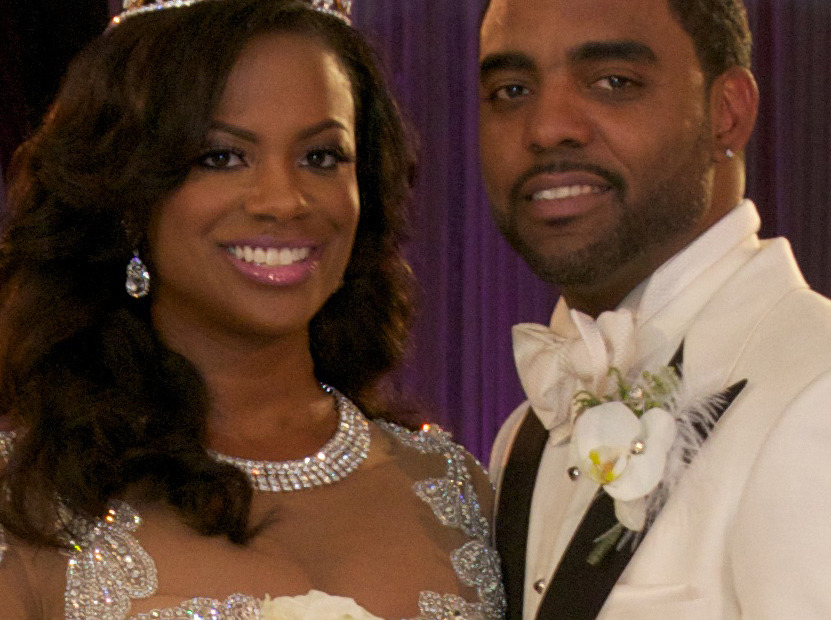Kandi Burruss Wedding Dress Revealed See The Crazy Gown Toofab