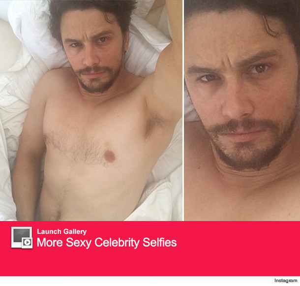 James franco selfie nude are not