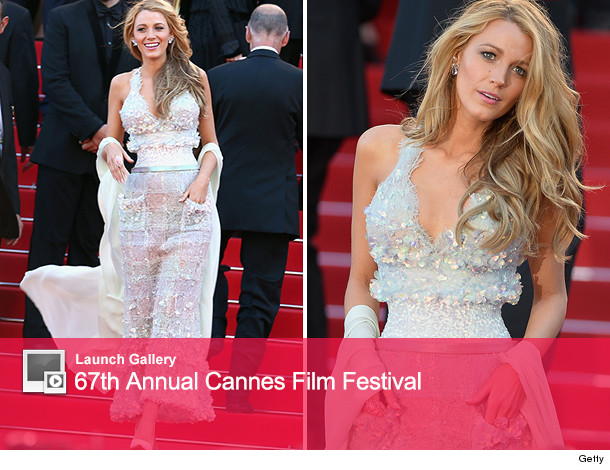 4ebf0c24cfdf Blake Lively Shows Off Insanely Small Waist in Chanel at Cannes ...