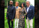 Kim Kardashian and Kanye West -- Bougiest Pre-Wedding Fete Ever ... Thanks, Valentino!