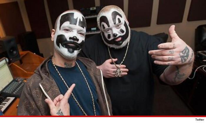 Insane clown posse without makeup