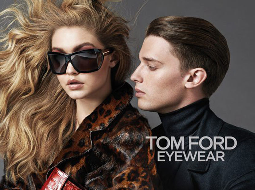 Gigi Hadid and Patrick Schwarzenegger Are Tom Ford Eyewear