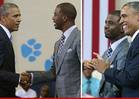 President Obama -- The World's On Fire ... But I Still Got Time for CP3!