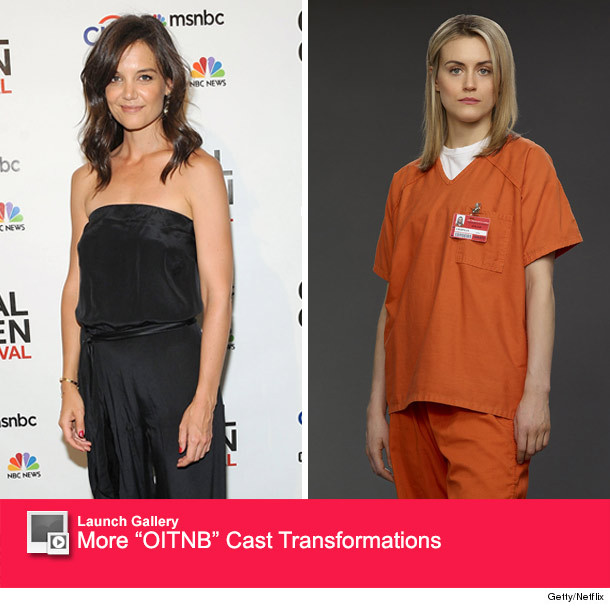 """What? Katie Holmes Was Almost Cast As Piper In """"OITNB"""