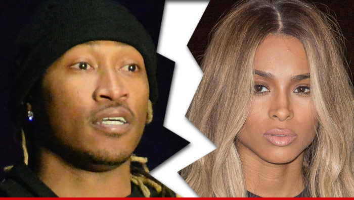Ciaras Son Future Zahir Wilburn: Future And Ciara -- Broken Up ... She Takes The Kid