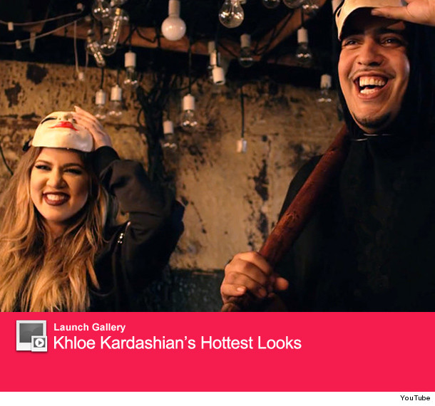 d091096c069f Khloe Kardashian Makes Scary Cameo in French Montana s
