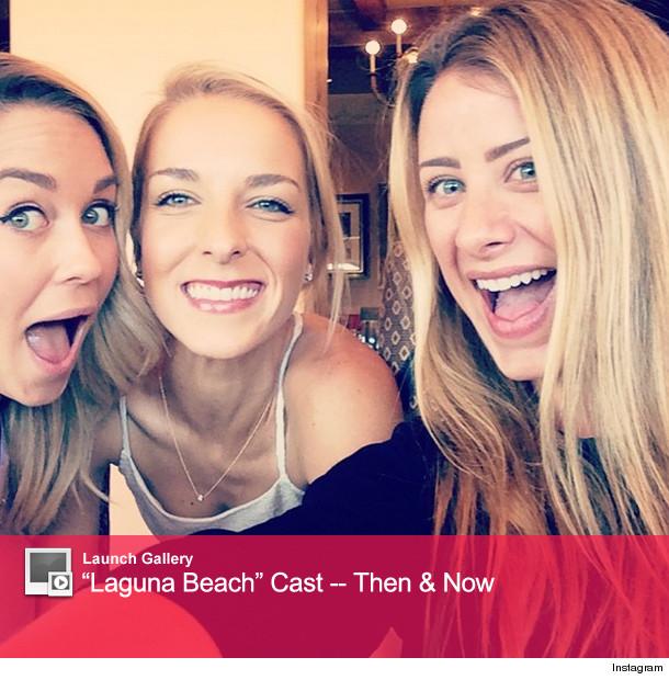 "Lauren Conrad Reunites With ""Laguna Beach"" Pals At Friend"