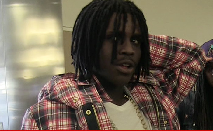 Chief Keef -- Too Busy for Court ... Cops on the Hunt ...