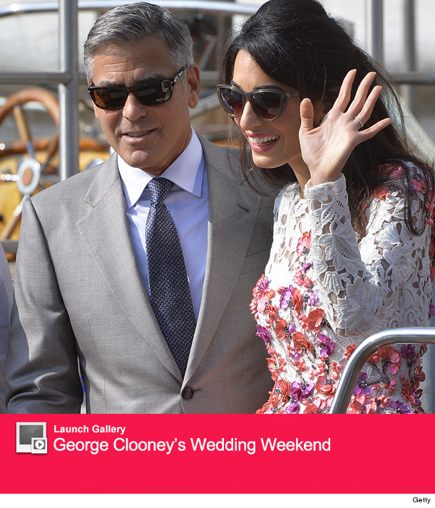 See First Photos of George Clooney & Amal Alamuddin's