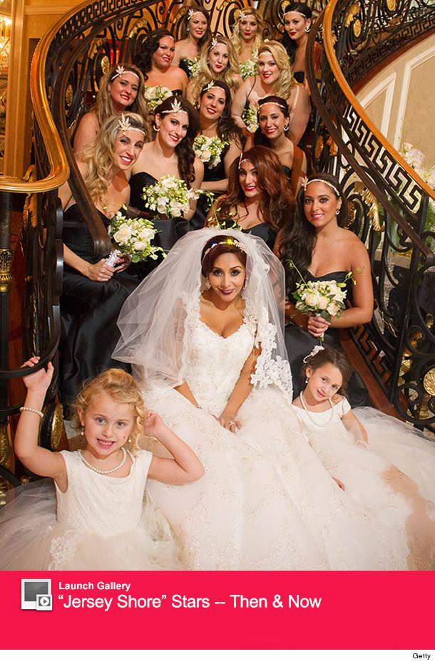 Official Wedding Photos.See Snooki S Official Wedding Photos The Dress Bridesmaids