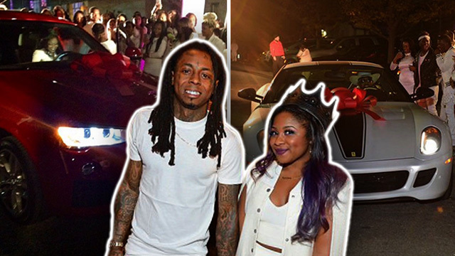 Lil Wayne's Daughter -- 16 Candles & TWO Freakin' CARS ...