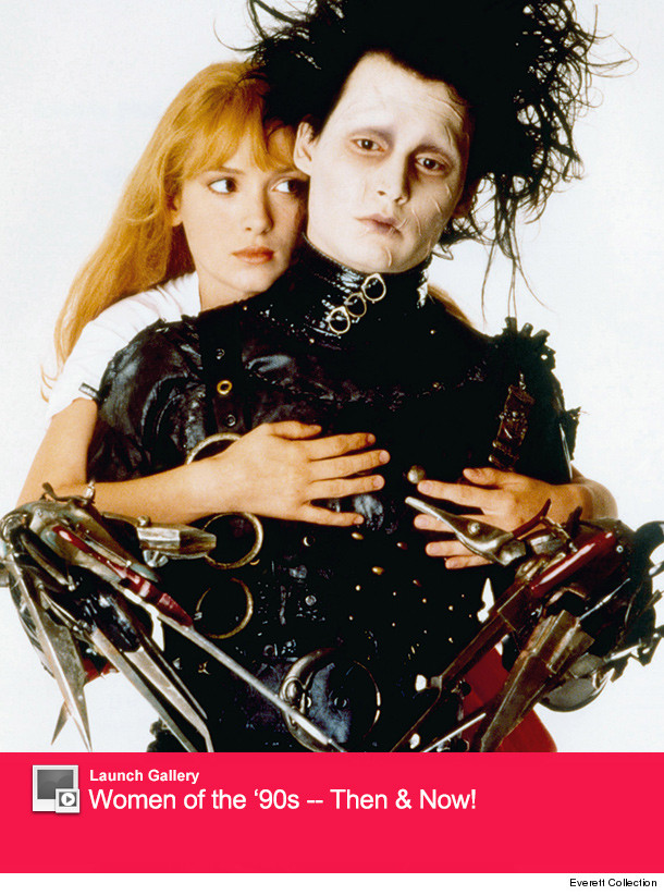 Edward Scissorhands Johnny Depp Repro Advert POSTER