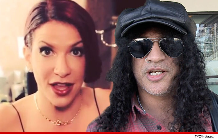 Slash Files for Divorce from Perla Hudson |Perla Hudson Instagram