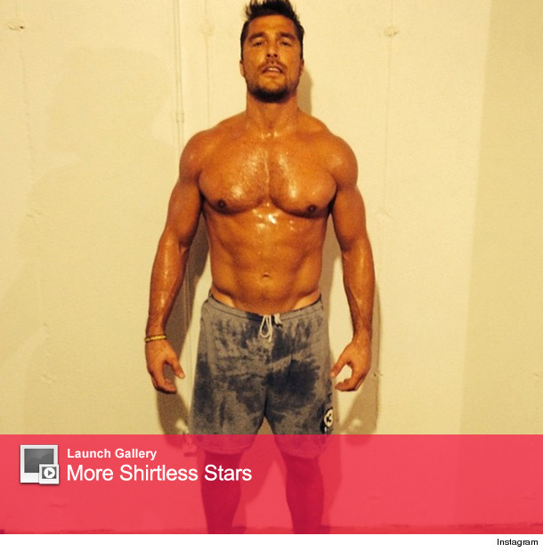 """""""Bachelor"""" Chris Soules Shows Off Rock-Hard Abs in Sweaty ..."""