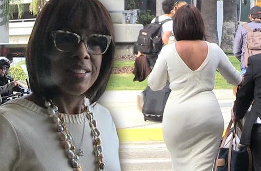 Slim thick ebony vpl grey sweatpants exclusive preview - 5 3