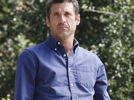 Patrick Dempsey Shows Off Hot Shirtless Bod While on