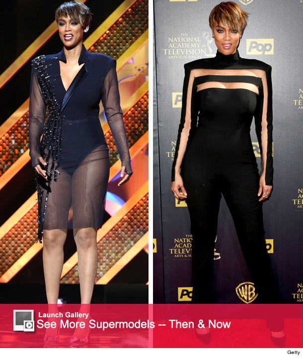 Tyra Banks Awards: Tyra Banks Has Five Fierce Outfit Changes During Daytime