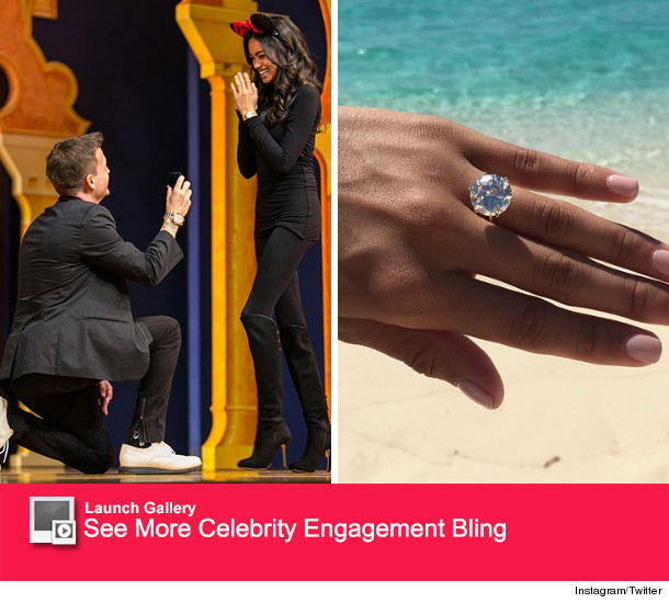 See The Massive Engagement Ring Rob Dyrdek Gave To Fiancee Bryiana