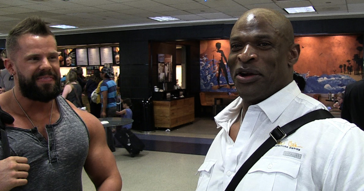 Ronnie Coleman's Bodybuilding Tips -- Blacker Is Better ...