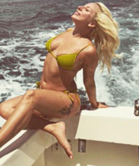 Seems magnificent Lady gaga tiny bikini