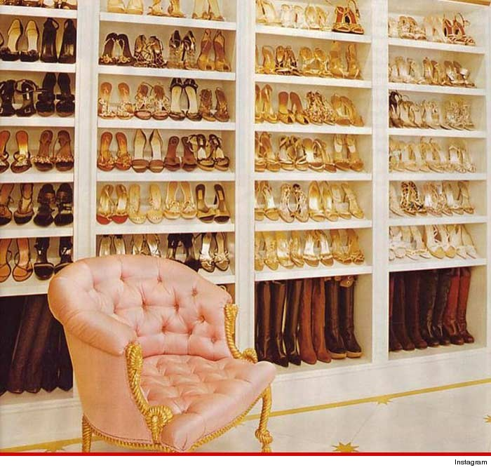 Chris Brown Shoe Closet New Shoes Collections