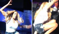 Wendy Williams -- Model Recovery after Stage Fall (VIDEO)