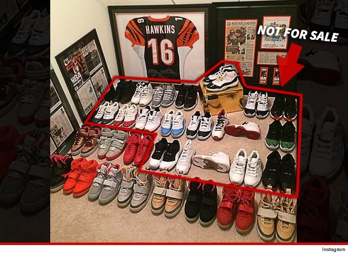 Browns Andrew Hawkins All Yeezys Must Go But Don T Touch My Ray Allen S Insane Shoe Closet You Chris Brown