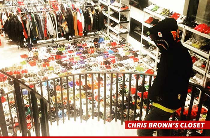 Nick Cannon To Chris Brown Thats Not A Shoe Collection
