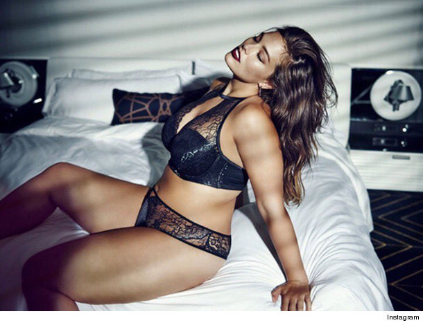 1006fc3883ae7 Plus-Size Model Ashley Graham Debuts Lingerie Line at NYFW