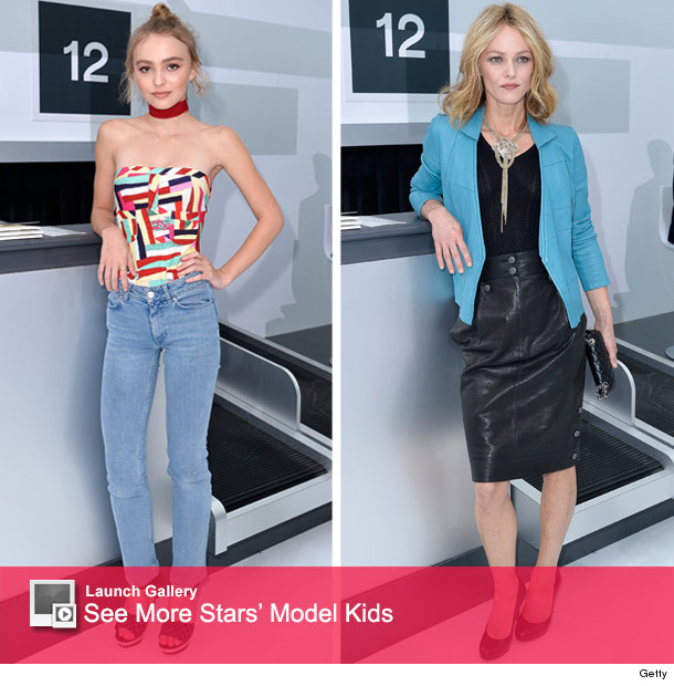 Lily-Rose Depp Is a Dead Ringer for Her Mom at Chanel's