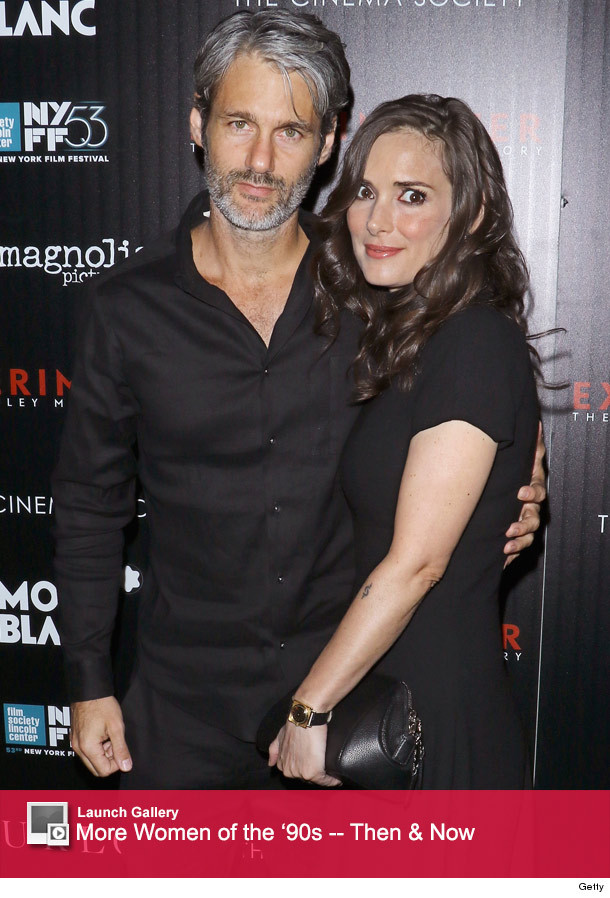 Winona Ryder Makes Rare Red Carpet Appearance with ...