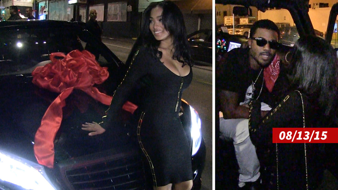 When Ray-J gifted the super sexy car to his wife Princess Love