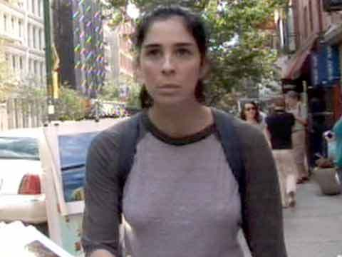 Sarah silverman nipple slip necessary