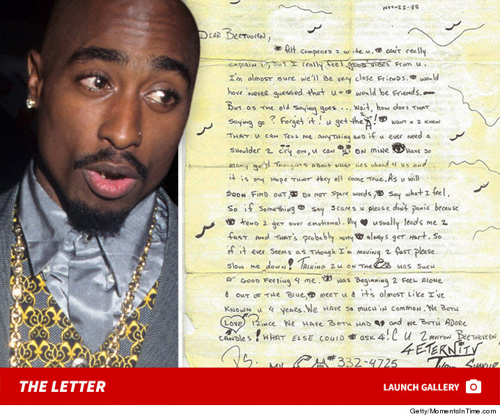 Tupac s Emotional High School Love Letter Surfaces