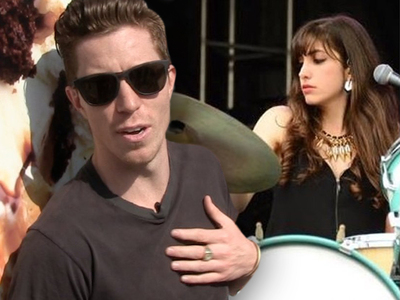 Shaun White -- Band Member Sues ... You're a Sexual Harassing Diva