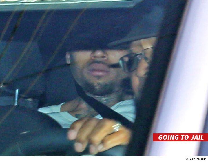 Chris Brown Arrested For Felony Assault With A Deadly