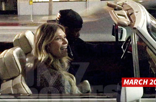 Russell Wilson -- Cruisin' With Samantha Hoopes ... Is He