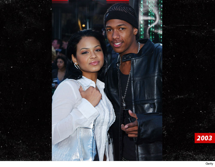 Nick Cannon & Christina Milian Reunite For Seafood Night ...