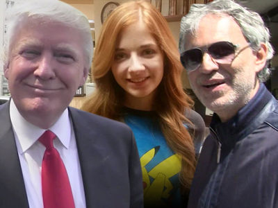 Andrea Bocelli Will Duet with Jackie Evancho for Trump Inauguration (UPDATE)