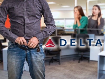 Delta Sued After 2 Employees Reported 'Mentor' Masturbating in the Office