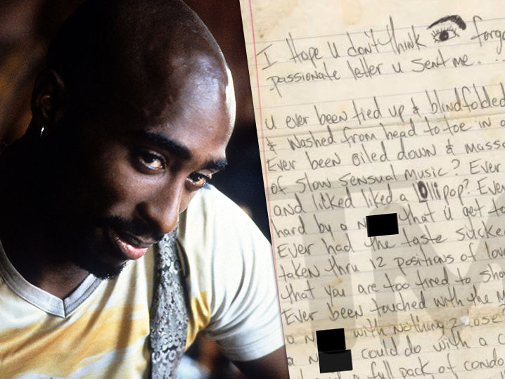 Tupac s Explicit Love Letter Could Fetch $25k