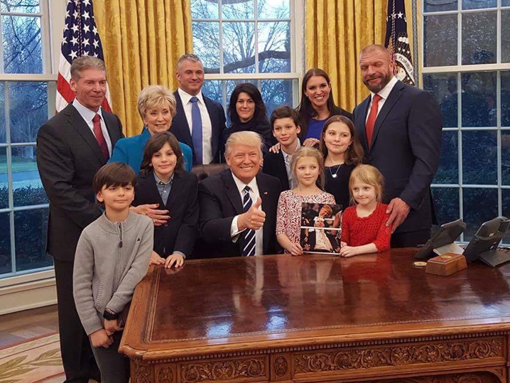 Vince McMahon Reminds Trump ... Memba When You Shaved My ...