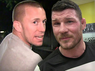 Dana White Confirms ... Georges St-Pierre Fighting Michael Bisping!