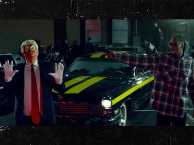 Snoop Dogg's Trump Gun Vid On Secret Service's Radar