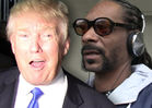 Donald Trump -- If Snoop Pointed Gun at Obama He'd Be Jailed!