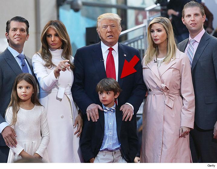 President Trump's Grandson Allegedly Captured in Selfies ...