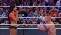 John Cena PROPOSES At WrestleMania ... Nikki Bella Says 'Yes' (VIDEO)