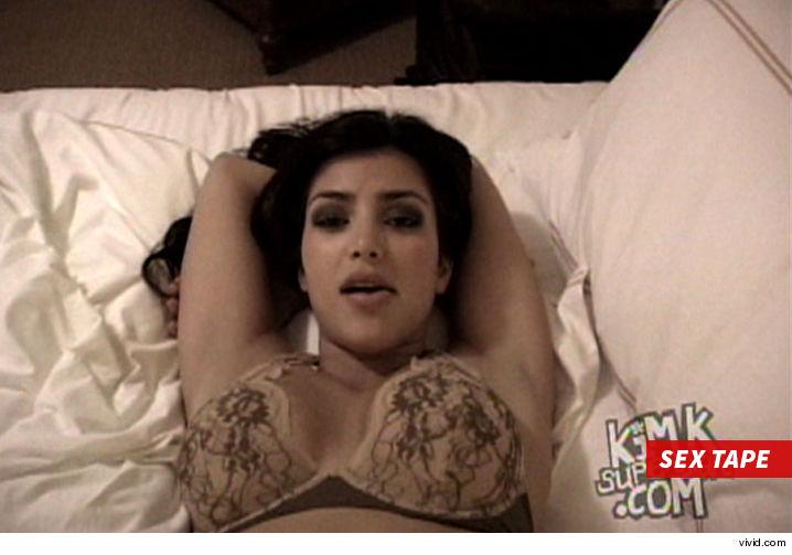 Bilder von Kim Kardashian Sex Tape