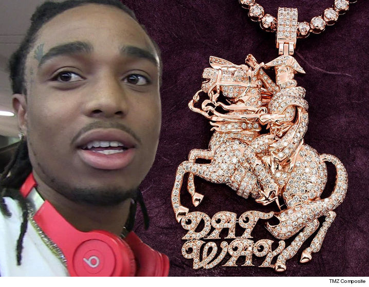 Migos Offset Explains Why He Married Cardi B: Migos Rapper Quavo Drops $35k On A New Napoleon Chain