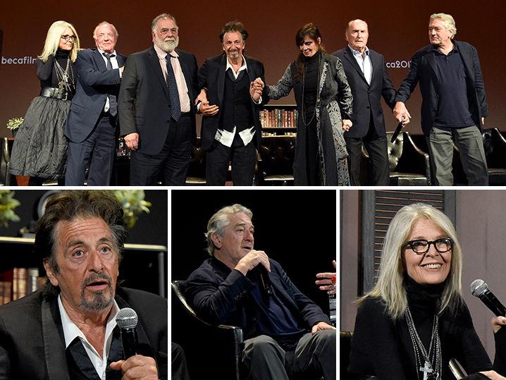 the godfather cast reunites at tribeca film festival
